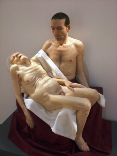 Pieta by Sam Jinks