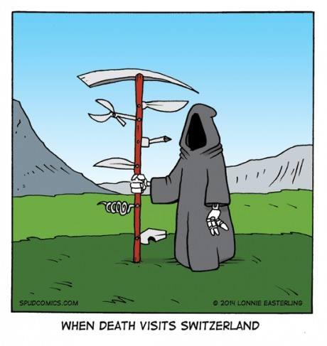death in swiitzerland