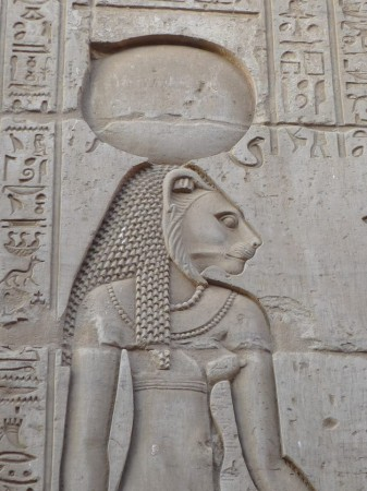 lion-headed Sekhmet