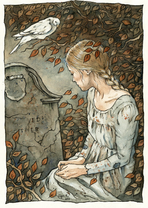 cinderella-at-her-mothers-grave