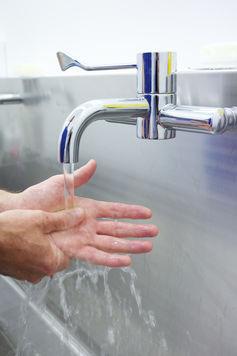 Compulsive hand washers