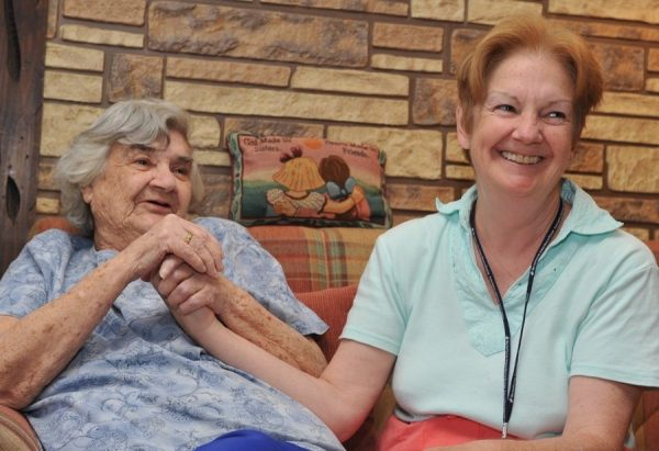 Volunteers at MJHS Hospice offer comfort to its residents during their final days.