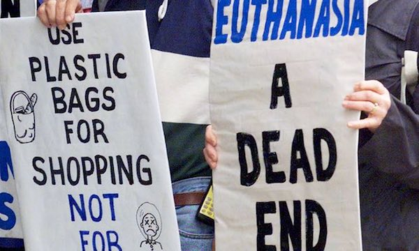an argument in favor of euthanasia as a way to end lives Terminal conditions feel pressured to end their lives early so as not to be a the economic argument for euthanasia is if euthanasia is the way.