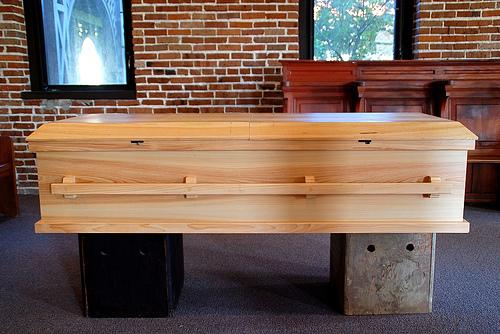 benedictine coffin