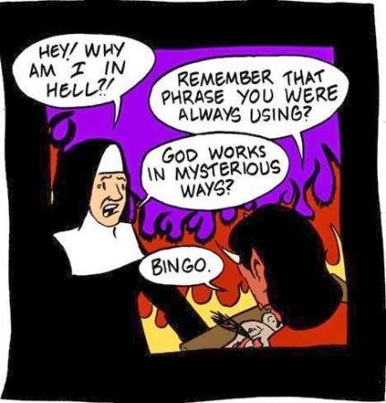 nun in hell