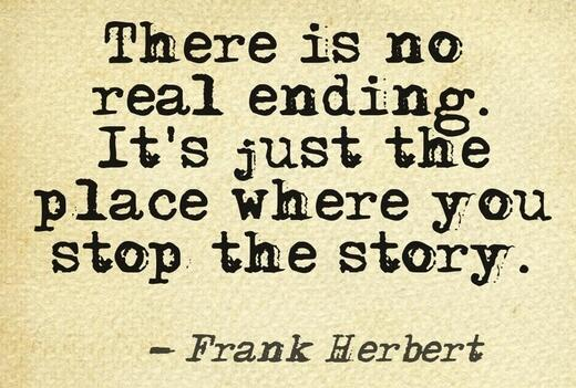 no real ending
