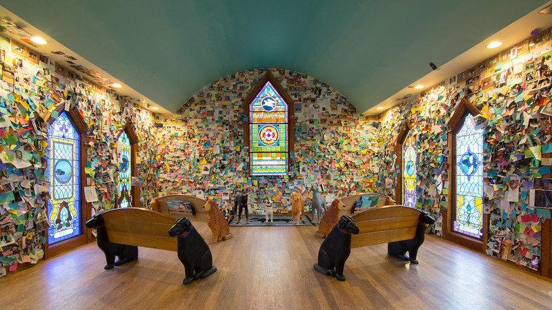 Dog Mountain's chapel