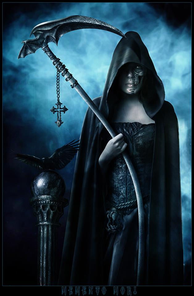 the grim reaper as a woman