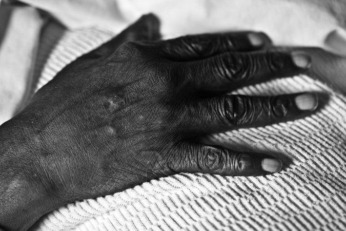 A prisoner in hospice