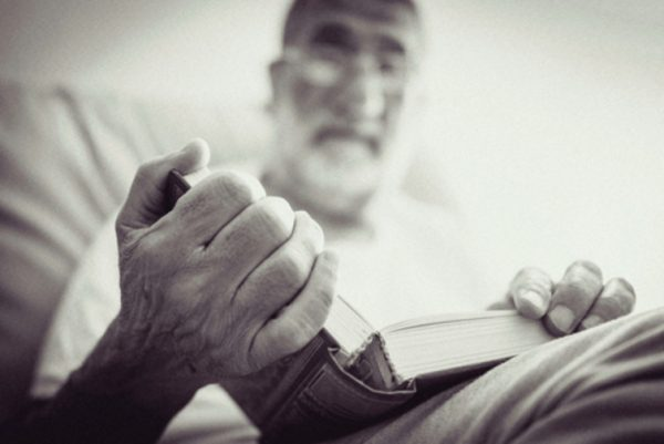 For those who seek out religious rituals, spiritual care can include reading scripture and praying.