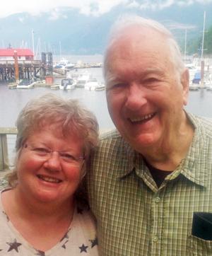 Ian Shearer and daughter Jan Lackie.